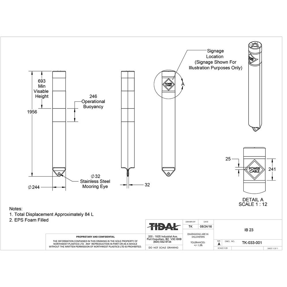 drawing-tidal-marine-information-buoy-ib-23