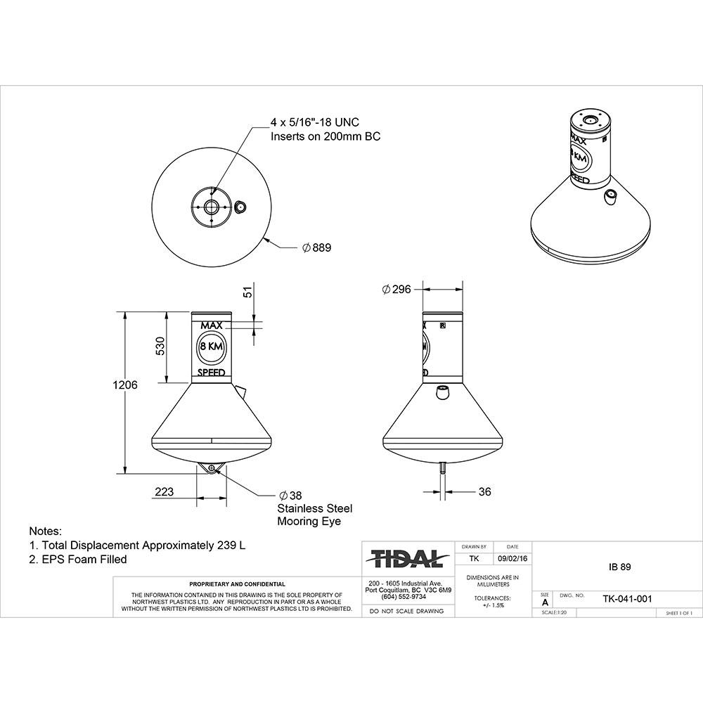 drawing-tidal-marine-information-buoys-ib-89